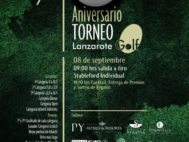 10º Aniversario Torneo de Golf Lanzarote